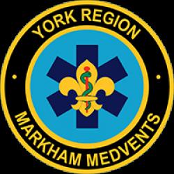 1st Markham York Region MedVents Crest